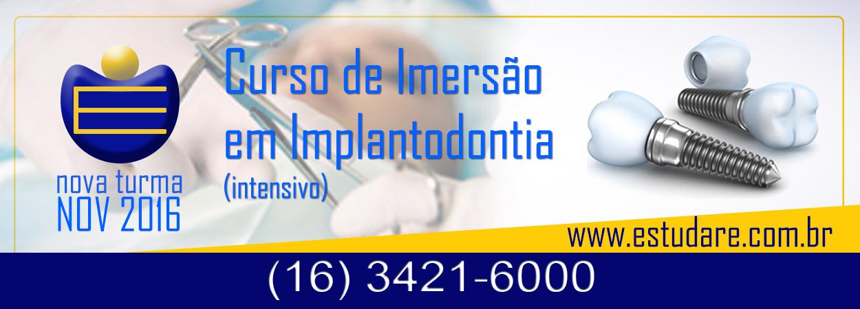 Curso de Aperfeiçoamento em Implantodontia